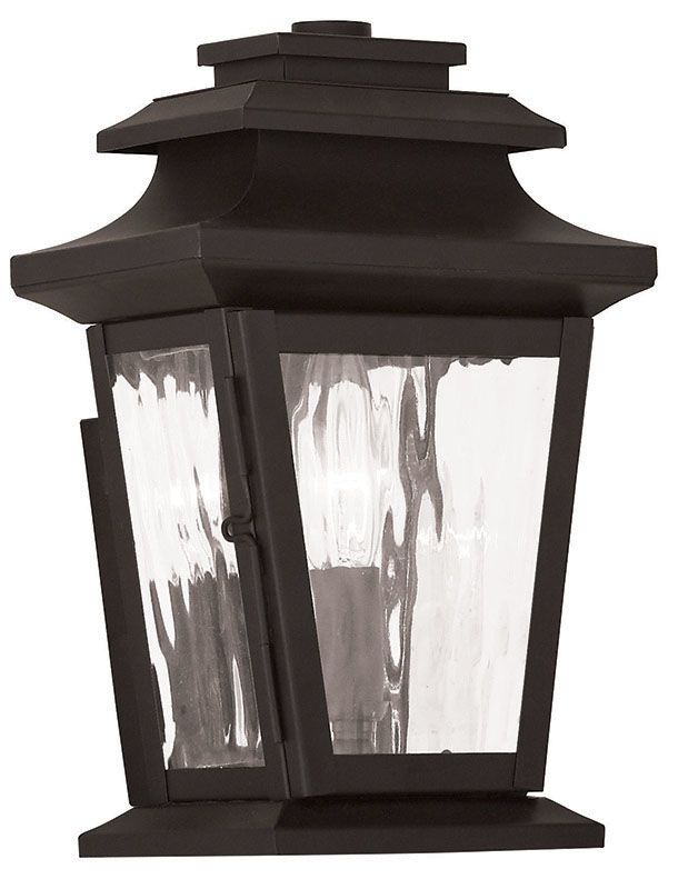 Livex Lighting 20255 Hathaway 1 Light Outdoor Lantern Wall Sconce Sale $199.90 ITEM: bci2545493 ID#:20255-07 UPC: 847284042797 :