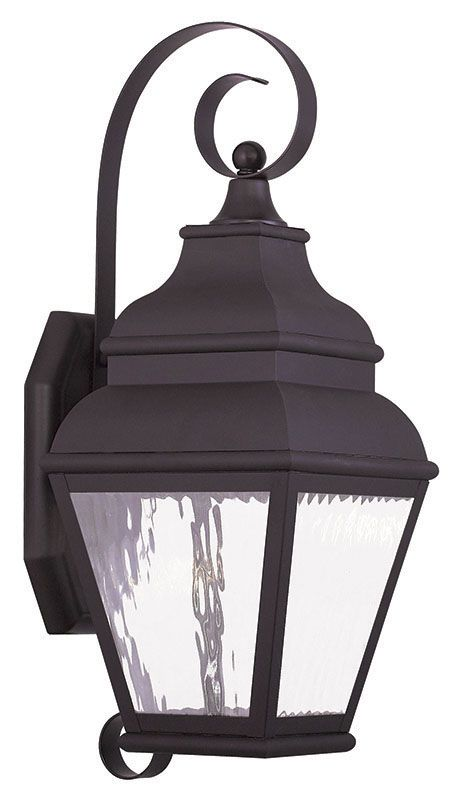 Livex Lighting 20262 Exeter 1 Light LED Outdoor Lantern Wall Sconce Sale $359.98 ITEM: bci2545501 ID#:20262-07 UPC: 847284042896 :