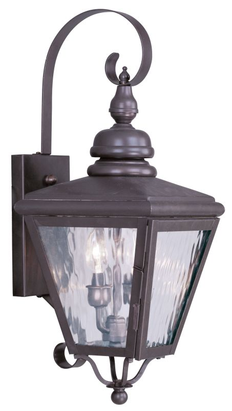 Livex Lighting 2031 Cambridge 2 Light Outdoor Wall Sconce Bronze