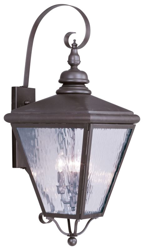 Livex Lighting 2036 Cambridge 4 Light Outdoor Wall Sconce Bronze