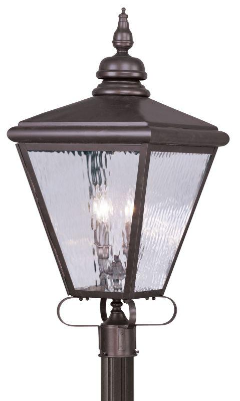 Livex Lighting 2038 Cambridge 4 Light Outdoor Post Light Bronze