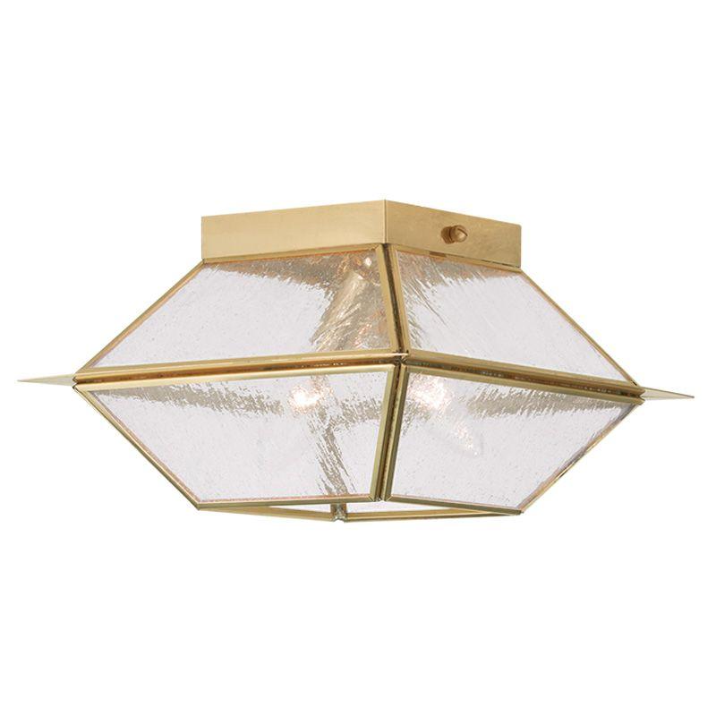 Livex Lighting 2175 Mansfield 2 Light Semi-Flush Outdoor Ceiling Sale $99.98 ITEM: bci2233103 ID#:2175-02 UPC: 847284036673 :