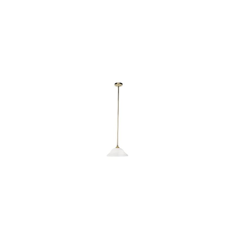 Livex Lighting 4251 North Port 1 Light Pendant Polished Brass Indoor