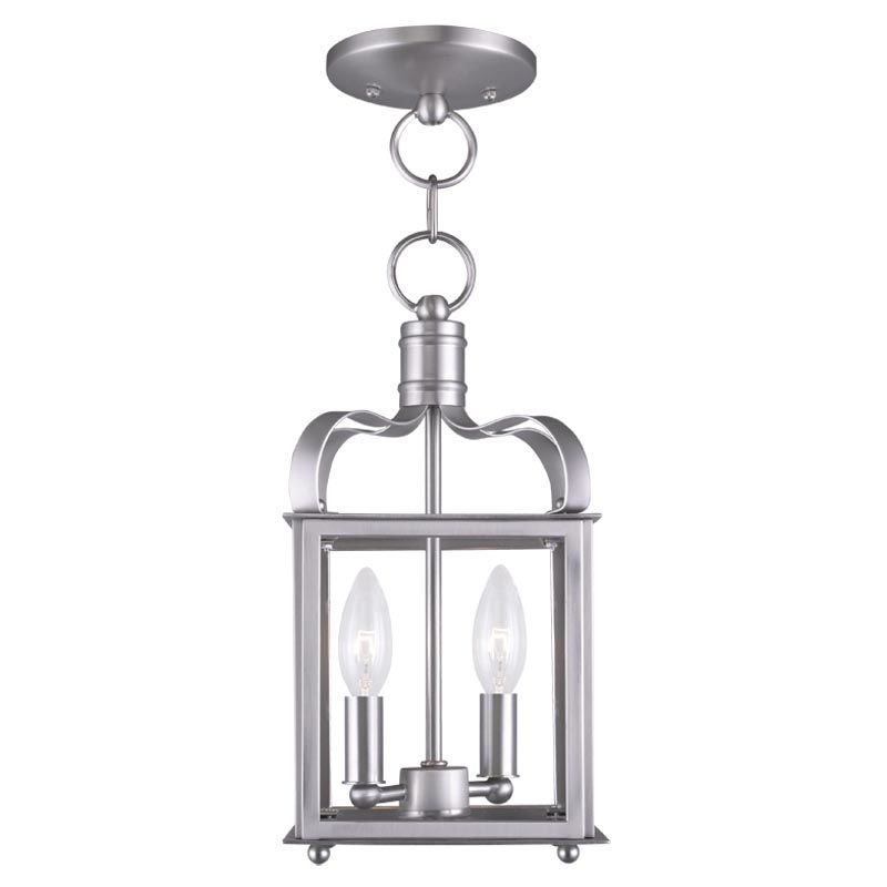 Livex Lighting 4312 Garfield 2 Light Convertible Pendant / Semi-Flush Sale $199.90 ITEM: bci2233117 ID#:4312-91 UPC: 847284034396 :