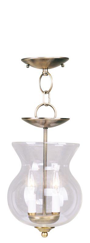 Livex Lighting 4393 Home Basics 2 Light Semi-Flush Ceiling Fixture Sale $99.90 ITEM: bci2307489 ID#:4393-01 UPC: 847284015937 :