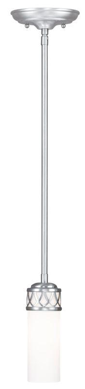 Livex Lighting 4720 Westfield 1 Light Mini Pendant Brushed Nickel