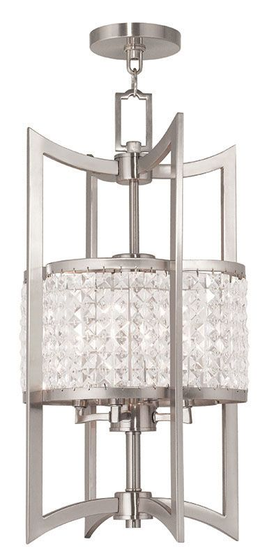 Livex Lighting 50566 Grammercy 4 Light Semi-Flush Ceiling Fixture