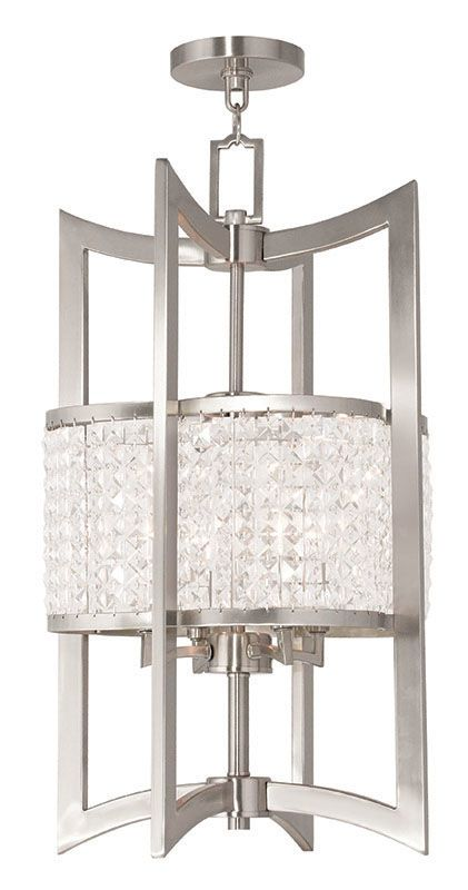 Livex Lighting 50567 Grammercy 4 Light Semi-Flush Ceiling Fixture Sale $1299.90 ITEM: bci2545622 ID#:50567-91 UPC: 847284039940 :
