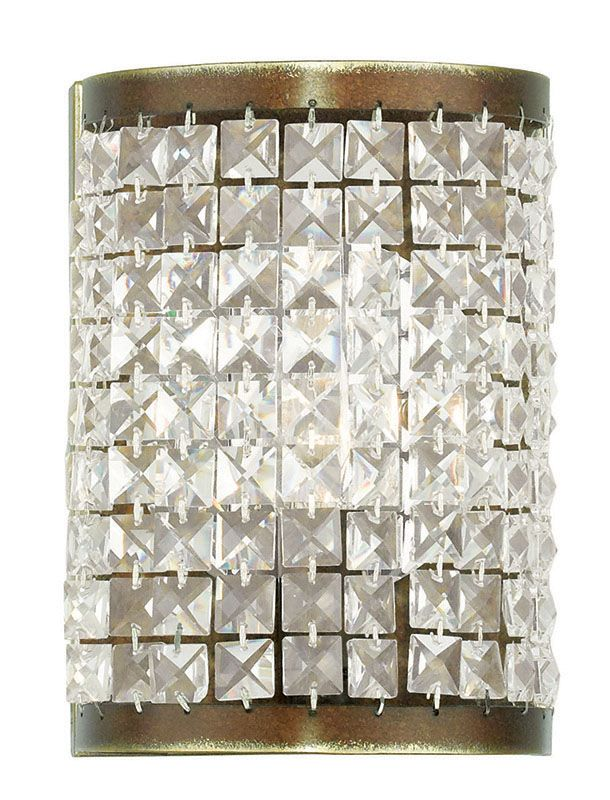 Livex Lighting 50571 Grammercy 1 Light ADA Compliant Wall Sconce with