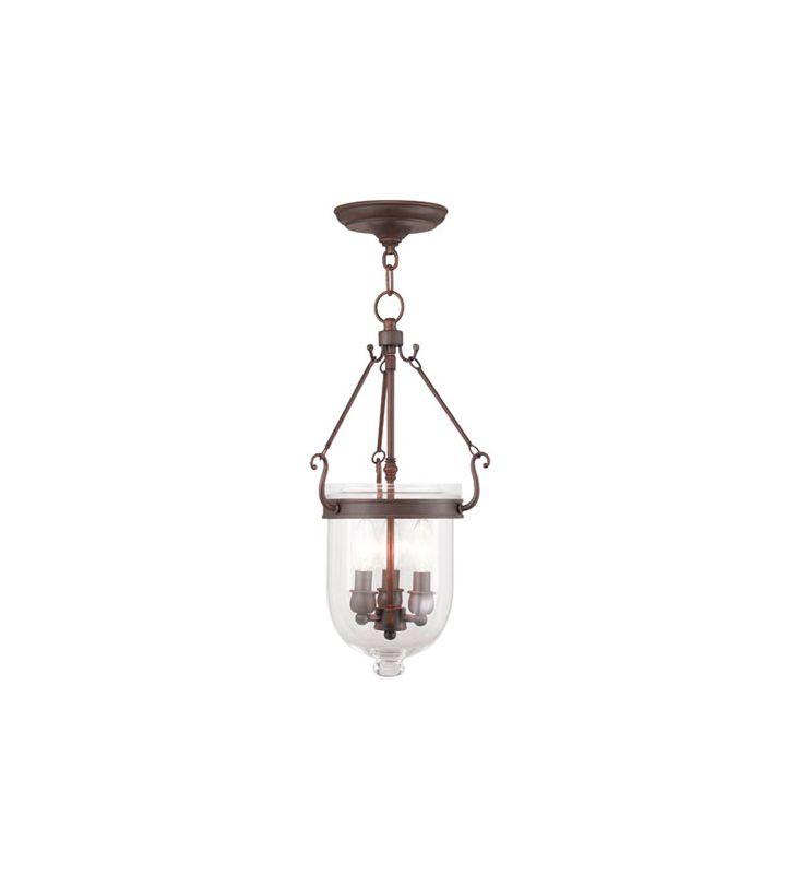 Livex Lighting 5063 Jefferson 3 Light Mini Pendant Imperial Bronze Sale $299.90 ITEM: bci2233217 ID#:5063-58 UPC: 847284034761 :