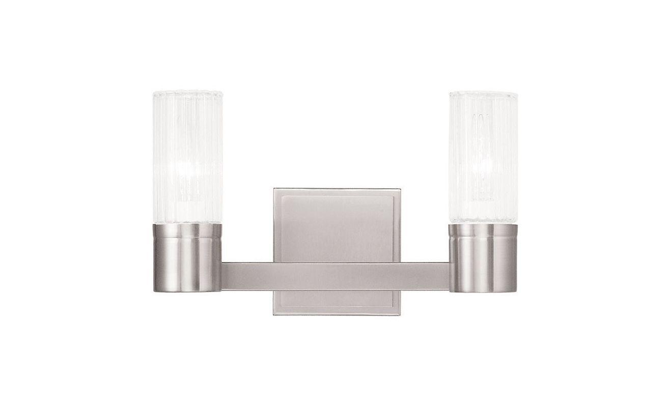 Livex Lighting 50682 Midtown 2 Light ADA Compliant Bathroom Vanity