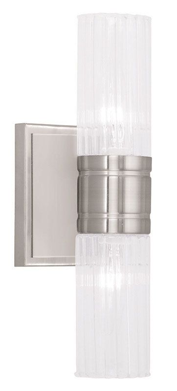Livex Lighting 50692 Midtown 2 Light ADA Compliant Bathroom Sconce