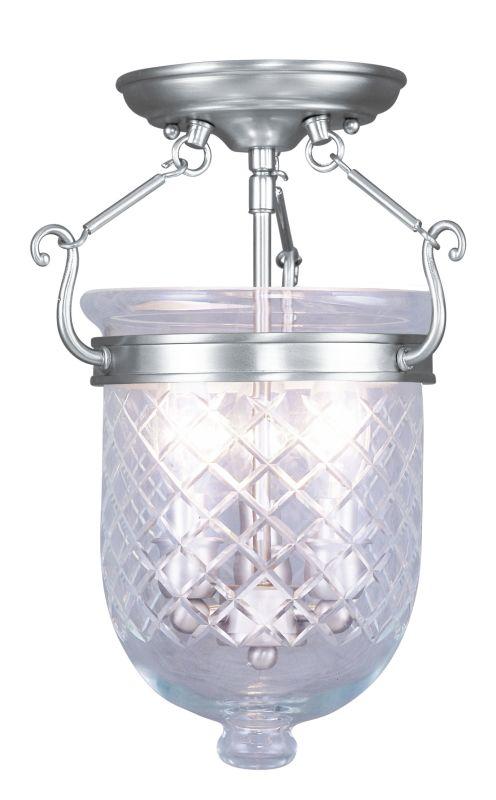 Livex Lighting 5071 Jefferson 3 Light Semi-Flush Ceiling Fixture Sale $299.90 ITEM: bci2307546 ID#:5071-91 UPC: 847284017085 :