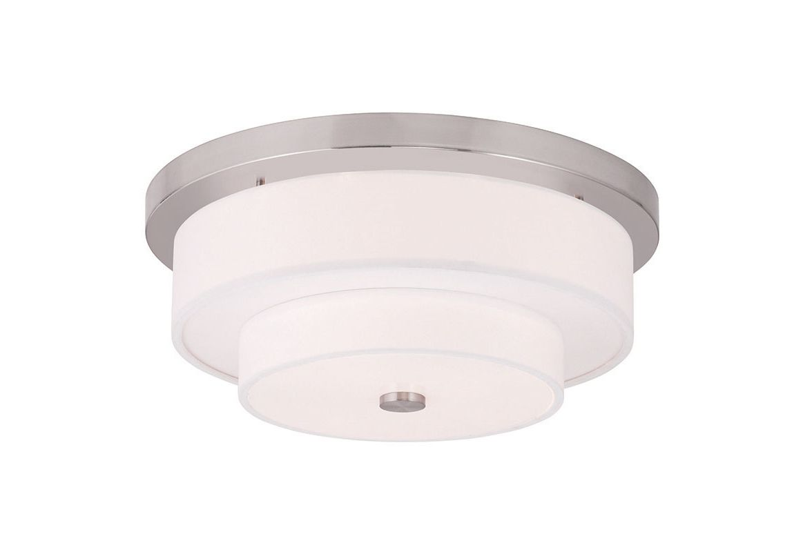 Livex Lighting 50865 Meridian 4 Light Flush Mount Ceiling Fixture Sale $279.90 ITEM: bci2545716 ID#:50865-91 UPC: 847284041158 :