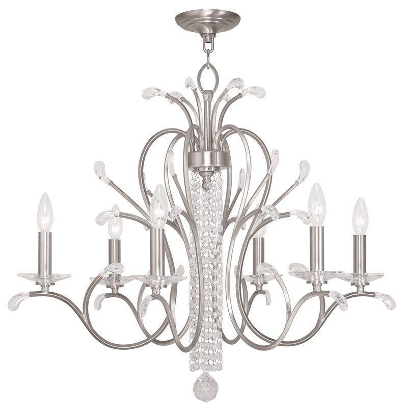 Livex Lighting 51006 Serafina 6 Light 1 Tier Crystal Candle Style Sale $1299.90 ITEM: bci2545736 ID#:51006-91 UPC: 847284040267 :