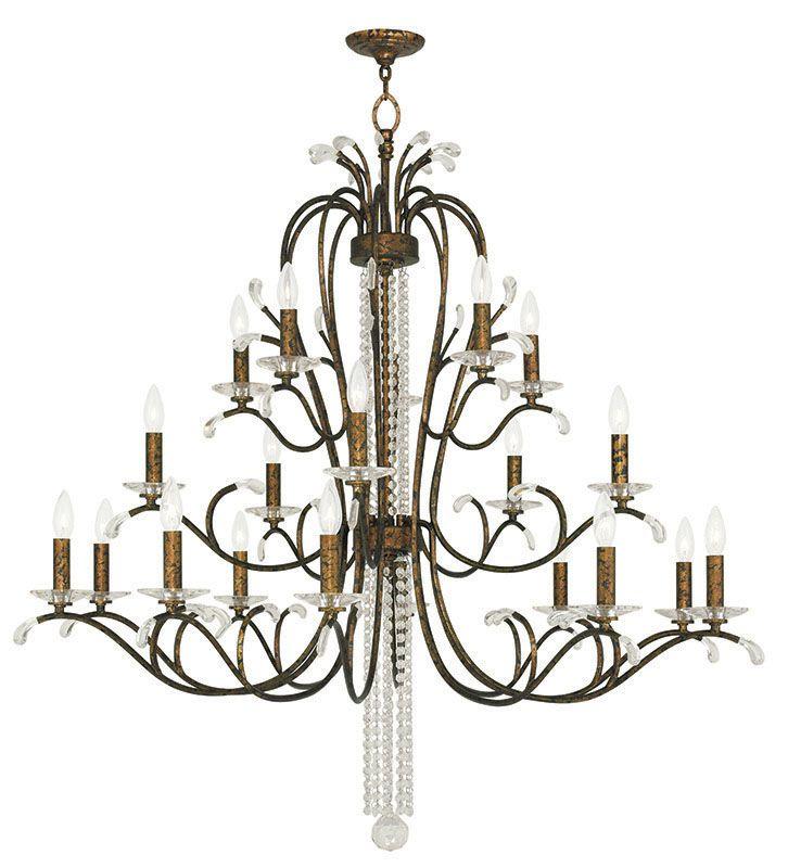 Livex Lighting 51010 Serafina 20 Light 3 Tier Crystal Candle Style Sale $2499.96 ITEM: bci2545743 ID#:51010-71 UPC: 847284040335 :