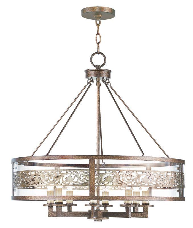 Livex Lighting 6259 Waverly 8 Light 1 Tier Chandelier Palacial Bronze Sale $799.90 ITEM: bci2307295 ID#:6259-64 UPC: 847284018624 :