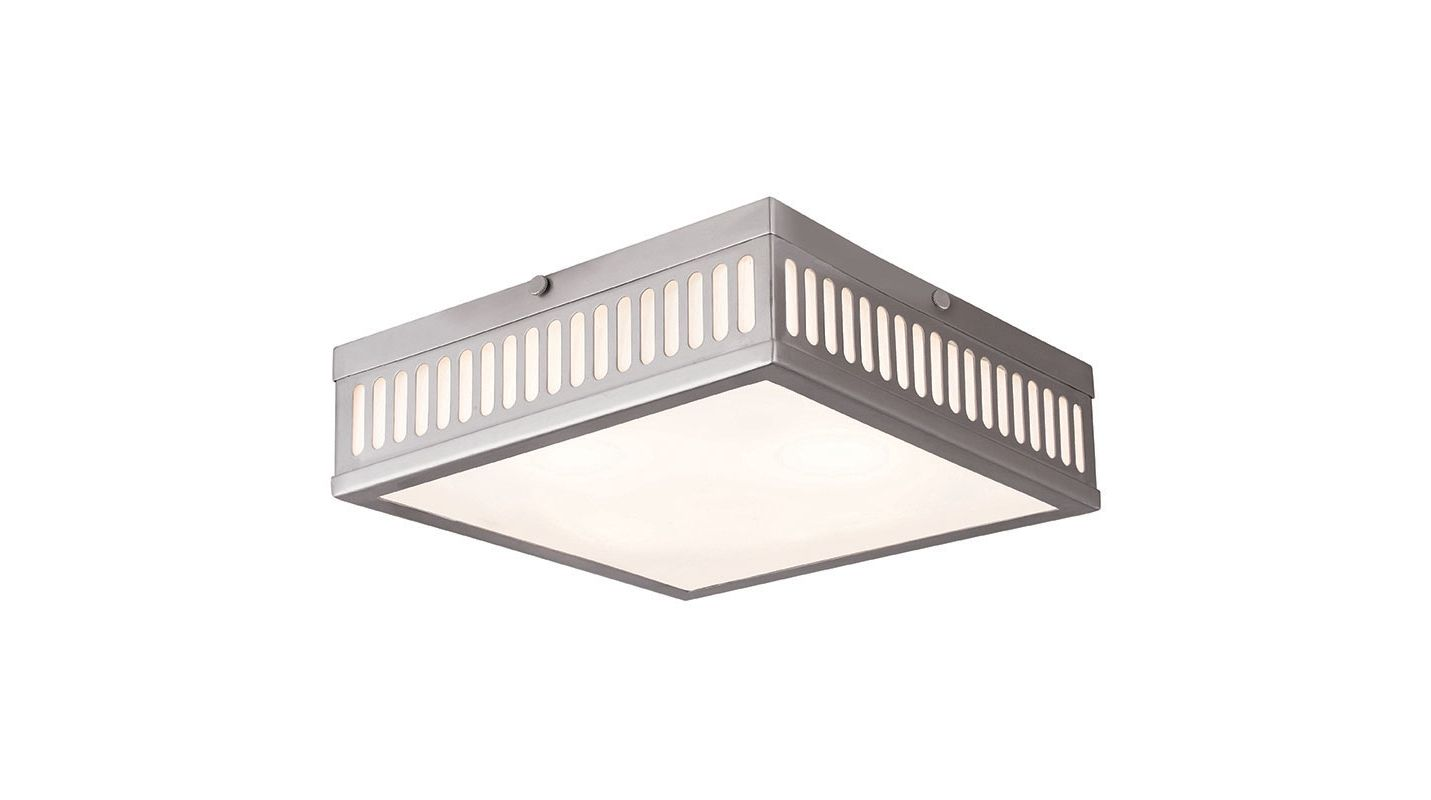 Livex Lighting 73164 Prentice 3 Light Flush Mount Ceiling Fixture