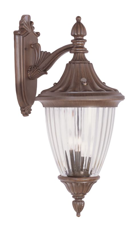 Livex Lighting 7784 Townsend 3 Light Outdoor Wall Sconce Imperial