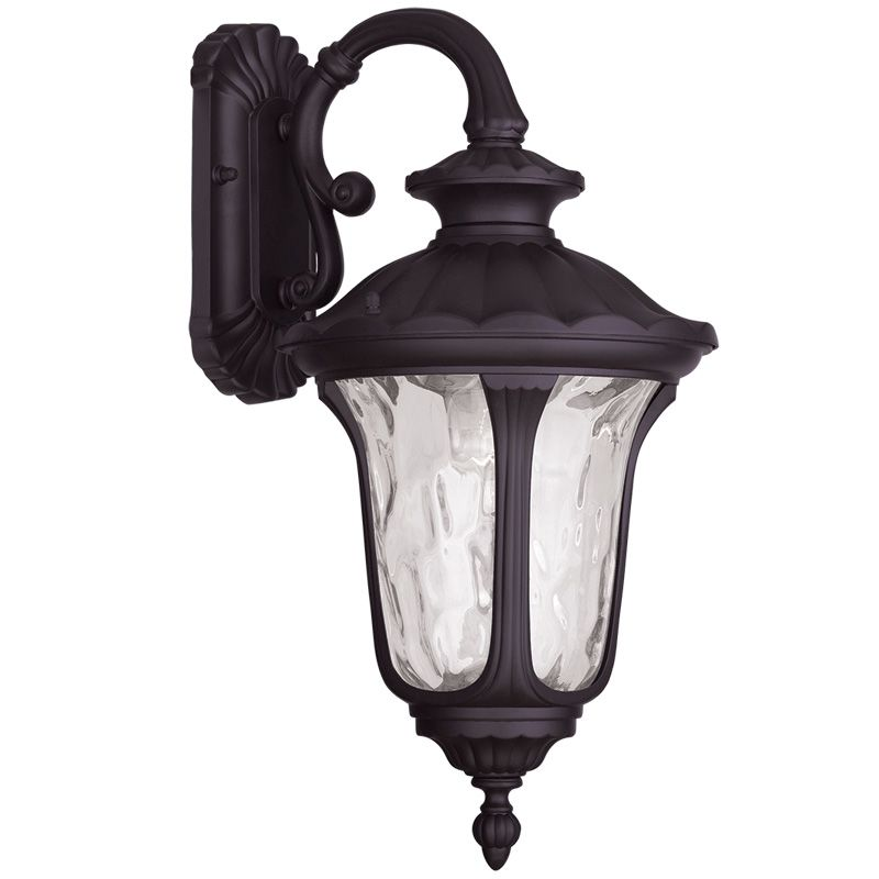 "Livex Lighting 7853 Oxford 19"" Height 1 Light Outdoor Wall Sconce"