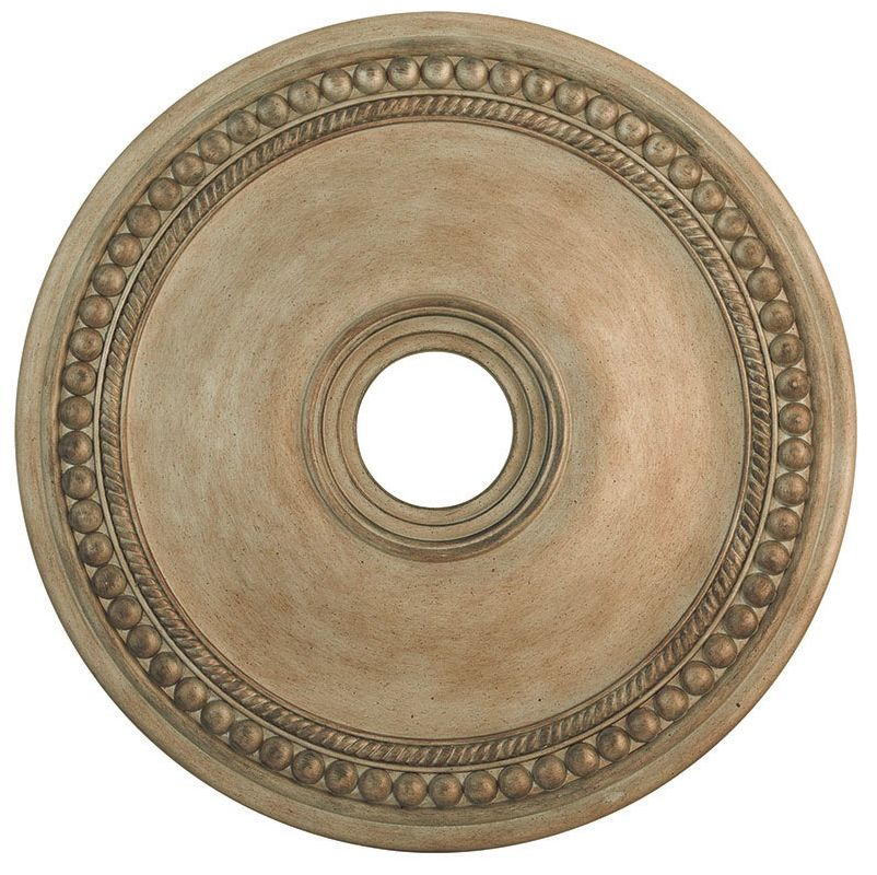 "Livex Lighting 82075 24"" Diameter Ceiling Medallion from the Wingate"