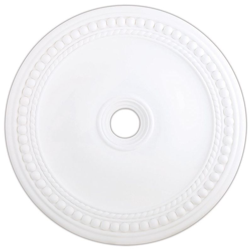 "Livex Lighting 82077 36"" Diameter Ceiling Medallion from the Wingate"
