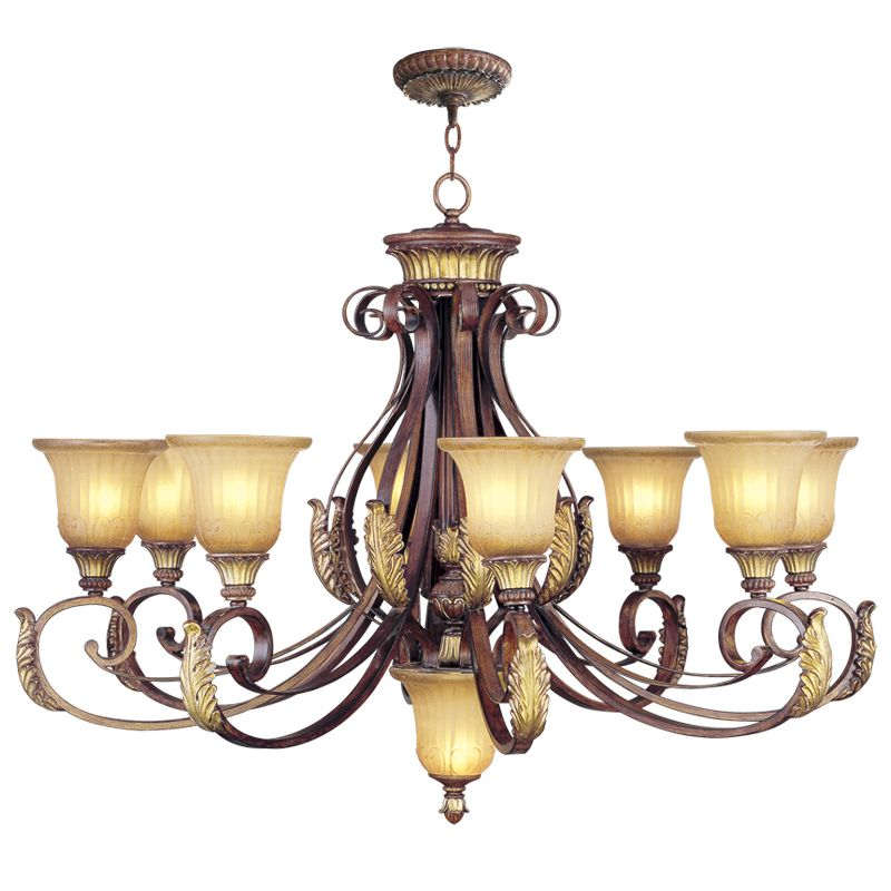 Livex Lighting 8586 Villa Verona 8 Light 1 Tier Chandelier Verona Sale $1199.90 ITEM: bci2233013 ID#:8586-63 UPC: 847284038103 :