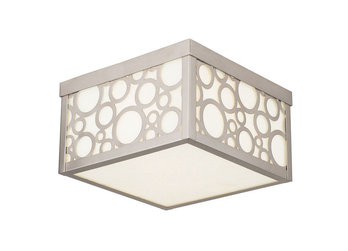 Livex Lighting 86792 Avalon 2 Light Flush Mount Ceiling Fixture