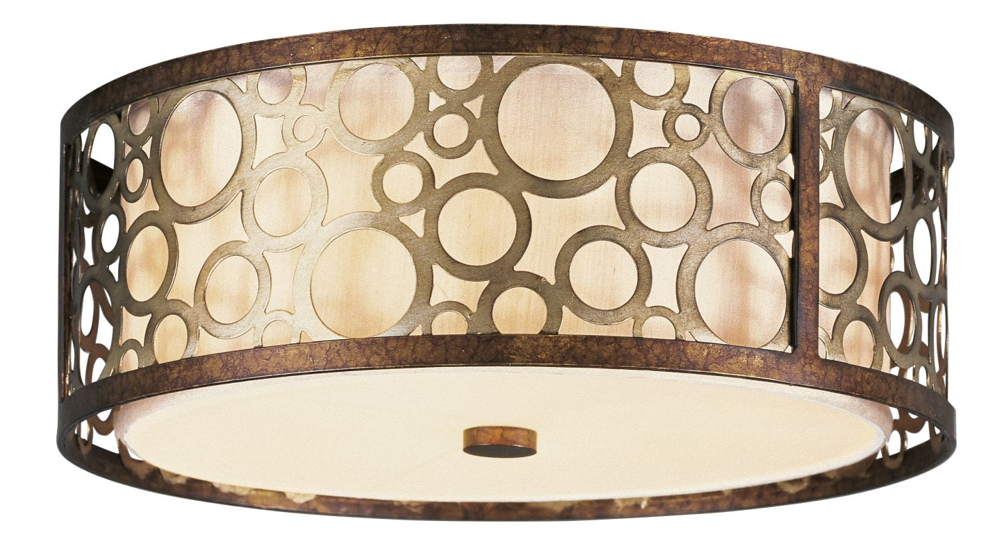 Livex Lighting 8688 Avalon 3 Light Flush Mount Ceiling Fixture