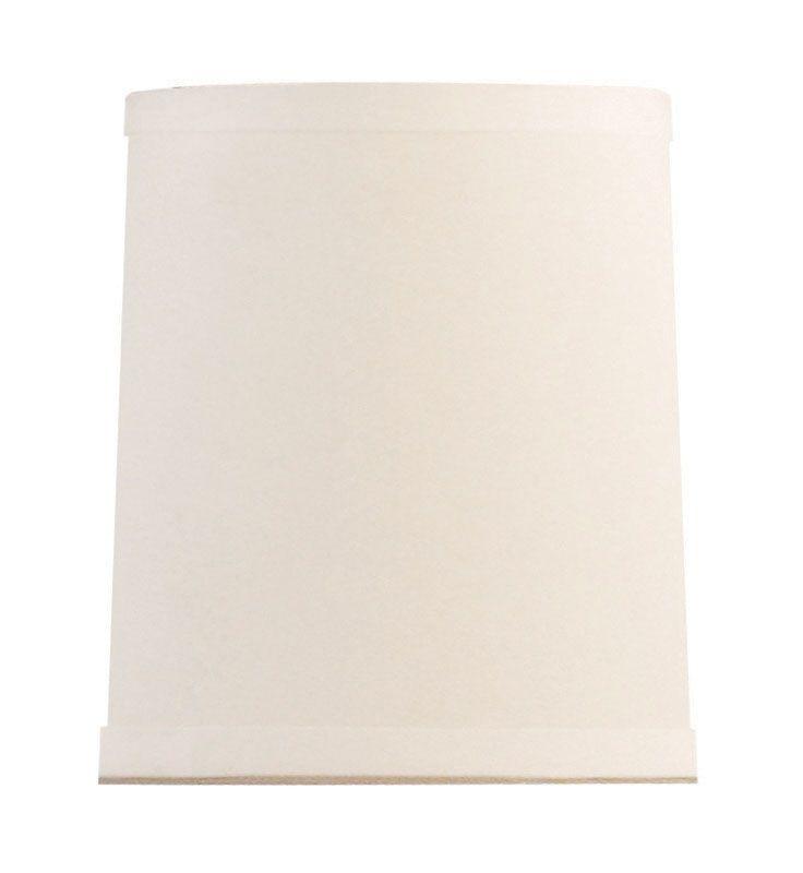 Livex Lighting 89111 Hand-Made 4-Clip Ivory Silkette Drum Hardback