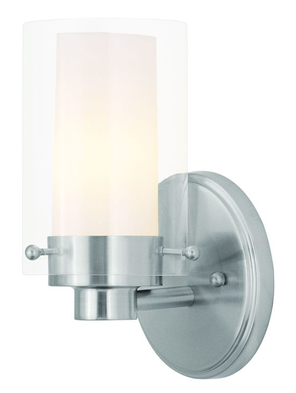 "Livex Lighting 1541 1 Light 60 Watt 5"" Wide Bathroom Fixture with"