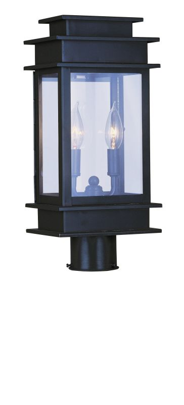 Livex Lighting 2015 2 Light 120 Watt Outdoor Post Light with Clear Sale $399.90 ITEM: bci1791283 ID#:2015-07 UPC: 847284003637 :