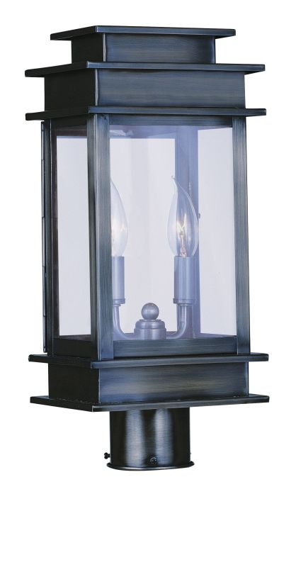 Livex Lighting 2015 2 Light 120 Watt Outdoor Post Light with Clear Sale $399.90 ITEM: bci1791284 ID#:2015-29 UPC: 847284003644 :