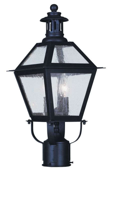 "Livex Lighting 2042 2 Light 120 Watt 8.5"" Wide Outdoor Post Light with"