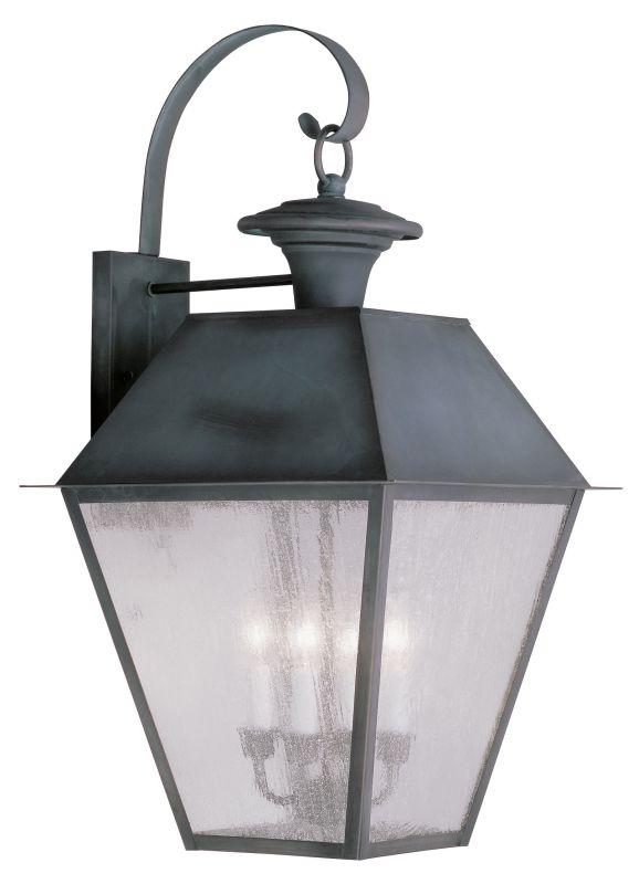 Livex Lighting 2172 Mansfield Large Outdoor Wall Sconce with 4 Lights Sale $679.90 ITEM: bci2069204 ID#:2172-61 UPC: 847284027657 :