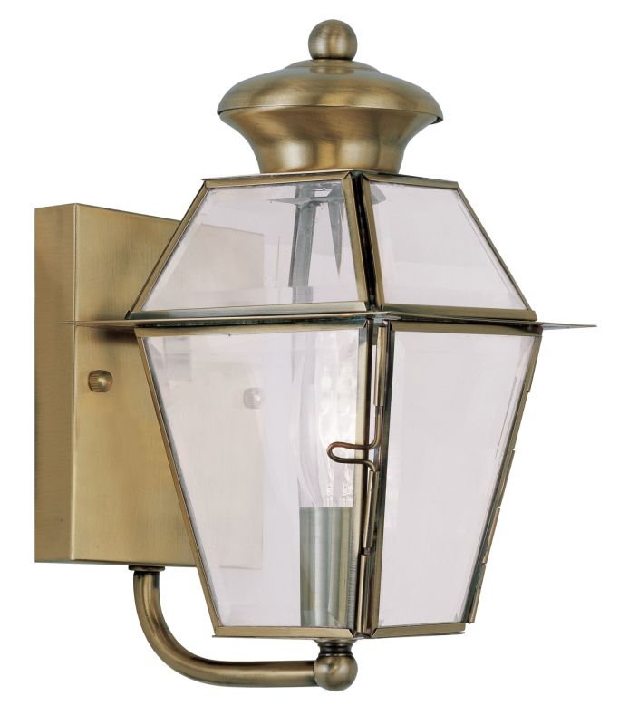 Livex Lighting 2180 Westover Small Outdoor Wall Sconce with 1 Light Sale $69.98 ITEM: bci2069217 ID#:2180-01 UPC: 847284026940 :