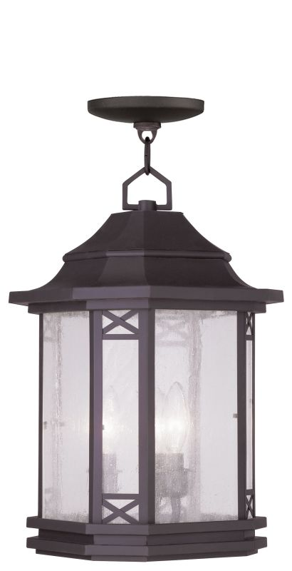 Livex Lighting 2315 Tahoe Outdoor Pendant with 3 Lights Bronze Outdoor