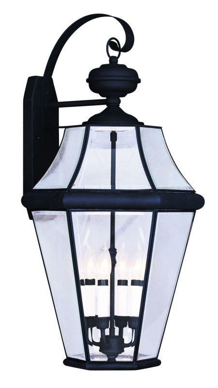 Livex Lighting 2366 4 Light 240 Watt 16&quote Wide Outdoor Wall Sconce with