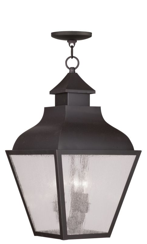 Livex Lighting 2456 Vernon Outdoor Pendant with 3 Lights Bronze Sale $399.90 ITEM: bci2069277 ID#:2456-07 UPC: 847284026865 :