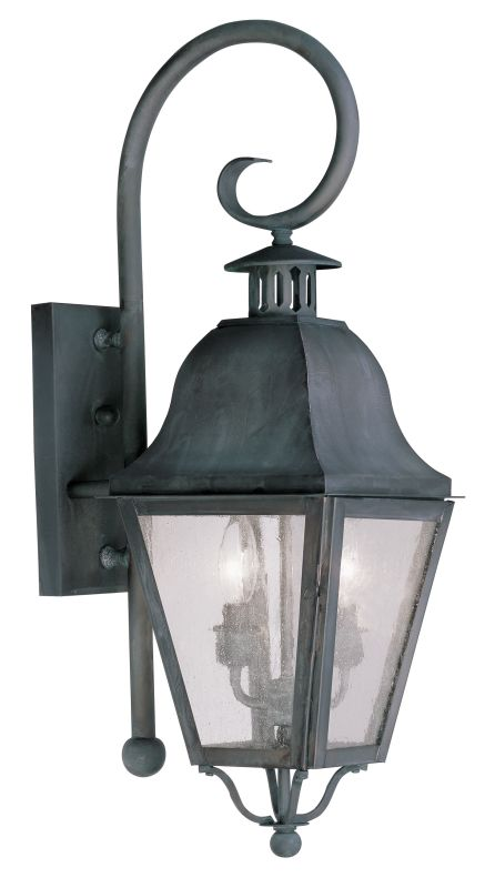 Livex Lighting 2551 Amwell Large Outdoor Wall Sconce with 2 Lights Sale $399.90 ITEM: bci2069294 ID#:2551-61 UPC: 847284027879 :