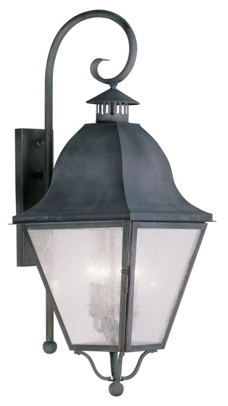 Livex Lighting 2558 Amwell Large Outdoor Wall Sconce with 4 Lights