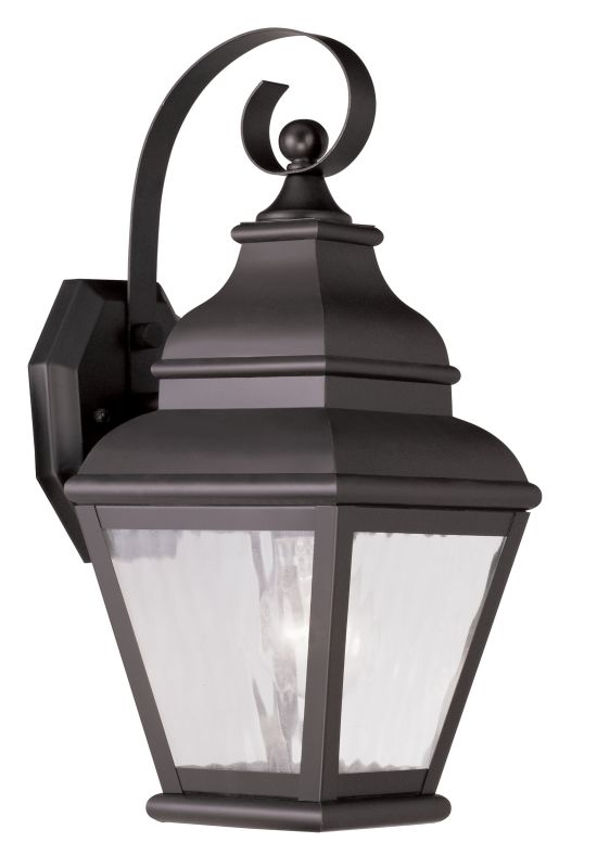 Livex Lighting 2601 Exeter Large Outdoor Wall Sconce with 1 Light Sale $199.90 ITEM: bci2069300 ID#:2601-07 UPC: 847284027930 :