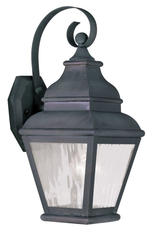 Livex Lighting 2601 Exeter Large Outdoor Wall Sconce with 1 Light Sale $199.90 ITEM: bci2069302 ID#:2601-61 UPC: 847284027954 :