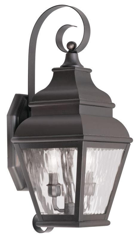 Livex Lighting 2602 Exeter Large Outdoor Wall Sconce with 2 Lights Sale $399.90 ITEM: bci2069303 ID#:2602-07 UPC: 847284027961 :