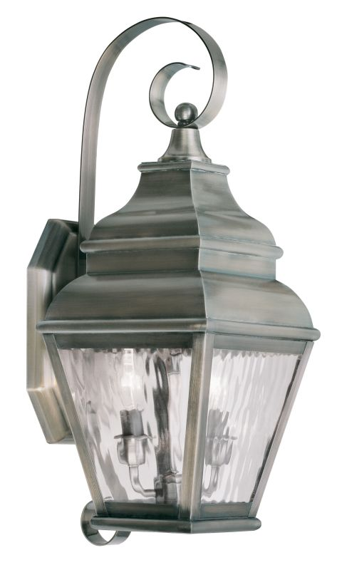 Livex Lighting 2602 Exeter Large Outdoor Wall Sconce with 2 Lights Sale $399.90 ITEM: bci2069304 ID#:2602-29 UPC: 847284027978 :