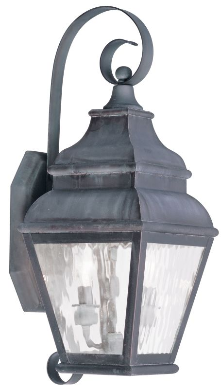 Livex Lighting 2602 Exeter Large Outdoor Wall Sconce with 2 Lights Sale $399.90 ITEM: bci2069305 ID#:2602-61 UPC: 847284027985 :