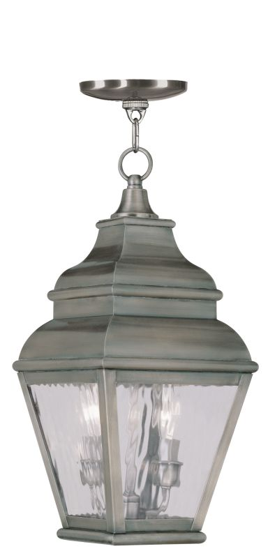 Livex Lighting 2604 Exeter Outdoor Pendant with 2 Lights Vintage Sale $399.90 ITEM: bci2069310 ID#:2604-29 UPC: 847284028036 :