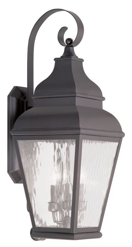 Livex Lighting 2605 Exeter Large Outdoor Wall Sconce with 3 Lights Sale $699.90 ITEM: bci2069312 ID#:2605-07 UPC: 847284028050 :