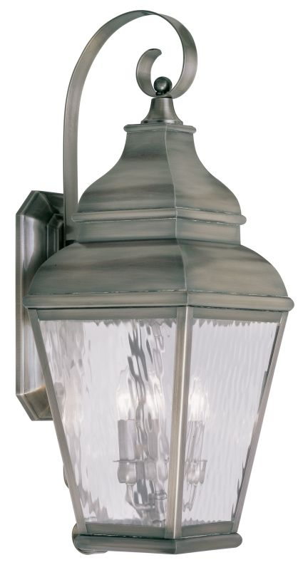 Livex Lighting 2605 Exeter Large Outdoor Wall Sconce with 3 Lights Sale $699.90 ITEM: bci2069313 ID#:2605-29 UPC: 847284028067 :