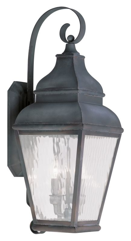 Livex Lighting 2605 Exeter Large Outdoor Wall Sconce with 3 Lights Sale $699.90 ITEM: bci2069314 ID#:2605-61 UPC: 847284028074 :